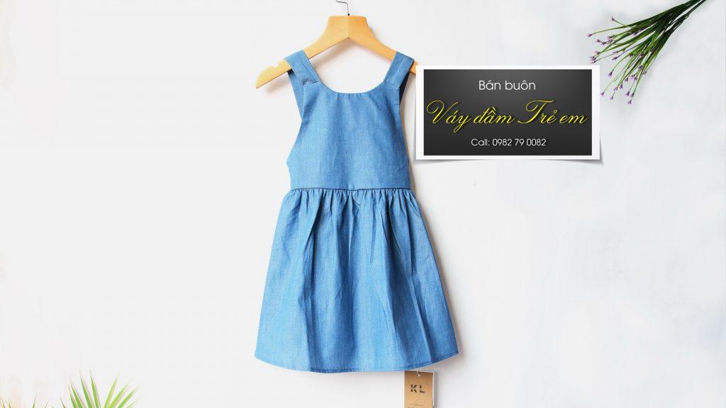 Bán buôn váy đầm Trẻ em Kidslux